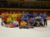 hokejové utkání Áčko vs. Béčko