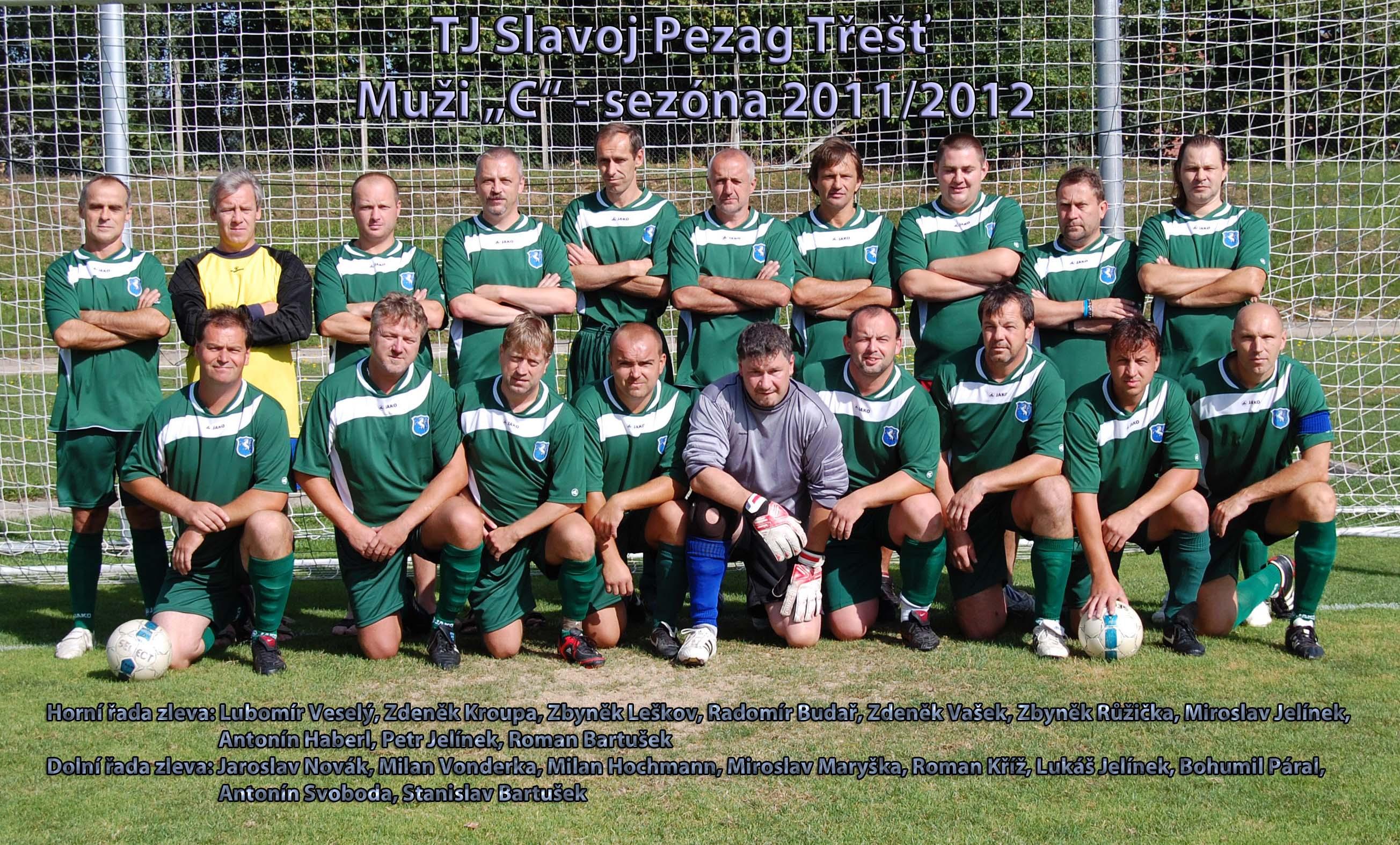 Muži C- podzim - sezóna 2011-2012
